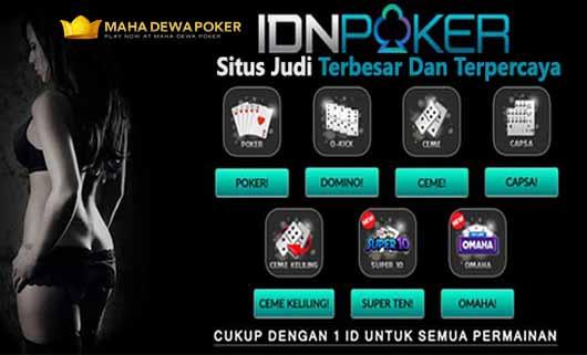 Pedoman Penting Saat Bermain Judi IDN Poker Online