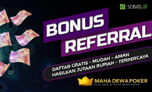 Ayo Ajak Gabung Teman dan Dapatkan Bonus Referral di Mahadewapoker!