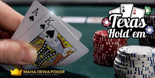 Petunjuk Bermain Judi Texas Holdem Poker Online