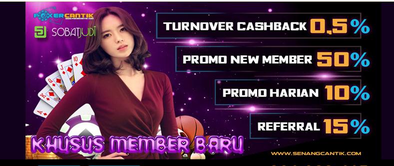 Bonus Menarik Khusus Member Baru di Situs Pokercantik