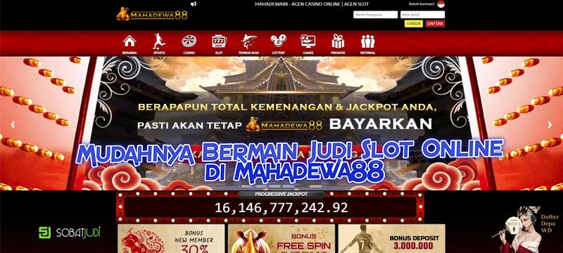 Beberapa Kemudahan Bermain Judi Slot Online Jaman Now