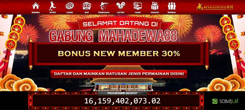 Bingung Main Judi Online? Yuk Gabung Situs Mahadewa88!