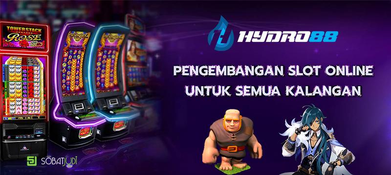 Pengembangan Permainan Slot Online Untuk Semua Kalangan